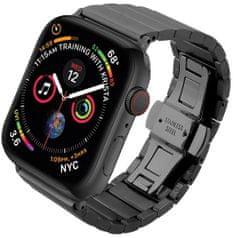 Coteetci COTEetCI ocelový pásek pro Apple Watch 42 / 44 mm WH5238-BK, černý