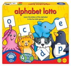 Orchard Toys Abeceda - Loto, 4 hry v 1