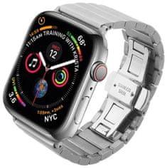 Coteetci COTEetCI ocelový pásek pro Apple Watch 42 / 44 mm WH5238-TS, stříbrný