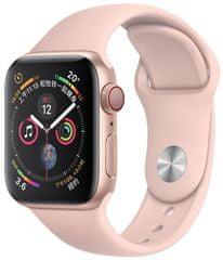 Coteetci COTEetCI silikonový sportovní náramek pro Apple watch 38 / 40 mm CS2085-LP, růžový