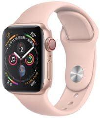 Coteetci COTEetCI silikonový sportovní náramek pro Apple Watch 42 / 44 mm CS2086-LP, růžový
