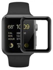 Coteetci COTEetCI 4D sklo s celoplošným lepením a černým lemem pro Apple Watch 38 mm CS2213-38