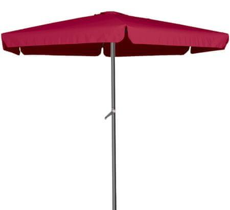 Linder Exclusiv 400 cm MC2012BR Burgundy napernyő