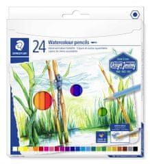 Staedtler Akvarelové pastelky Design Journey, 24 barev, sada, šestihranné