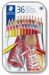 Staedtler Pastelky, 36 různých barev, sada, šestihranné