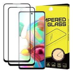 MG Full Glue Super Tough 2x ochranné sklo na Samsung Galaxy A71, čierne