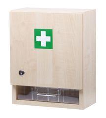 ŠTĚPAŘ Nástěnná lékárnička pro 30 osob – dekor dřevo