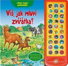 Víš, jak mluví zvířátka? - čtení, hraní, poslouchání