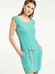 Ragwear světle zelené šaty Tag