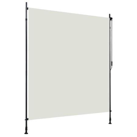 shumee krémszínű kültéri roló 200 x 270 cm