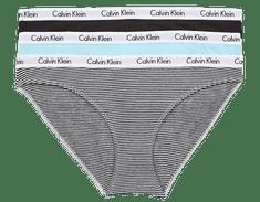 Calvin Klein trojité balenie dámskych nohavičiek QD3588E Bikini 3PK