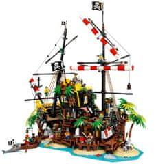 LEGO Ideas 21322 Zátoka pirátov z lode Barakuda