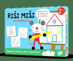 Value Add Games Arty Mouse: Riši miši družabna igra