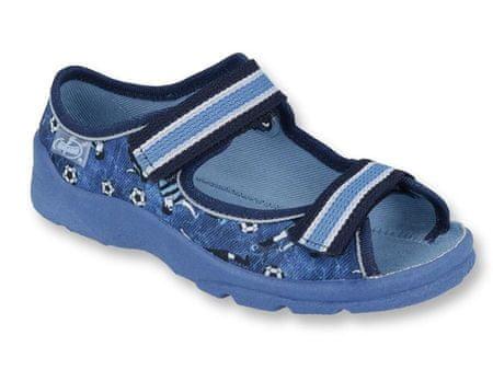 Befado sandały chłopięce Max 969X141 27 niebieskie