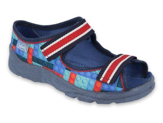 Befado Chlapčenské sandálky Max 969X153, 25, tmavomodrá