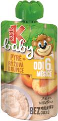 Kubík Baby Jablko-MARHUĽA-Ryžová krupica 12x100g
