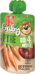 Kubík Baby Jablko-MRKVA 12x100 g
