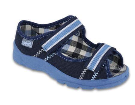 Befado 969Y101 Max fantovski sandali, temno modri, 32