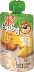 Kubík Baby Jablko-Banán-Ryžová KRUPICA 12x100 g