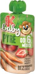 Kubík Baby Jablko-JAHODA-Mrkva 12x100 g