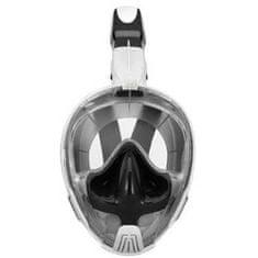 Spartan M2101 maska za ronjenje i disalica, bijela/crna
