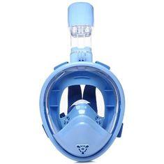 Spartan K-1 potapljaška maska in dihalka, otroška, svetlo modra