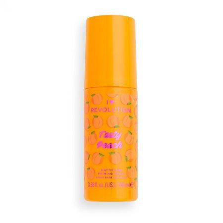 Makeup Revolution Podlaga za ličenje I ♥ Revolution Tasty Peach (Mattifying Priming Spray) 100 ml