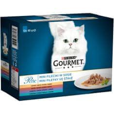 Gourmet Perle multipack minifiletky ve šťávě mix. výběr 6x(12x85 g)