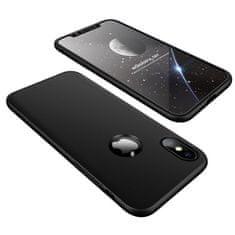 GKK 360 Full Body plastové pouzdro na iPhone XS / X, černé