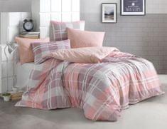 BedTex Obliečky Mark Ružové - 220x200 / 2x 70x90 cm
