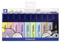 Staedtler Textsurfer Classic Pastel Szövegkiemelő készlet, 10 különböző szín