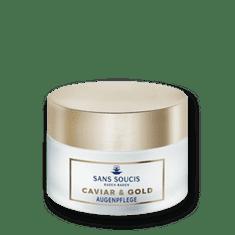 Sans Soucis  CAVIAR & GOLD - oční péče - pro všechny typy pleti