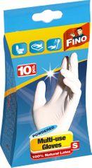 Fino jednorázové rukavice pudrované S 10 ks