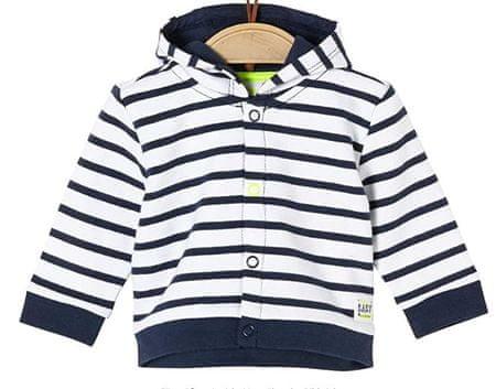 s.Oliver gyerek kabát, 50/56, fehér/kék