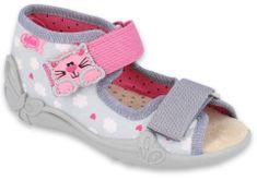 Befado dievčenské sandálky Papi 342P009