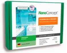 NanoConcept Set nano ochrana skla a keramiky proti usazování špíny a vodního kamene 30 ml