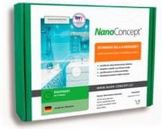 NanoConcept Set nano ochrana skla a keramiky proti usazování špíny a vodního kamene 100 ml