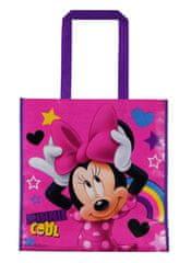Eplusm Ajándék / bevásárló táska Minnie mouse - rózsaszín