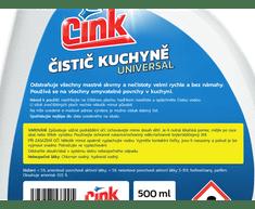 CINK čistič kuchyně universal sprej 500 ml