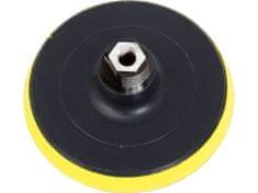 Extol Craft Tanier unášací so suchým zipsom pre uhl. brúsky (M14), 125mm