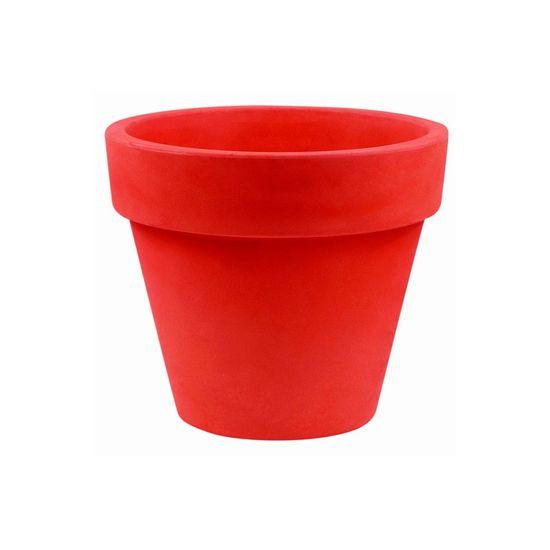Vondom Květináč MACETA Simple 45x39 - červená - set 4ks