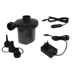 Rulyt pumpa, električna, 12V/220V, crna