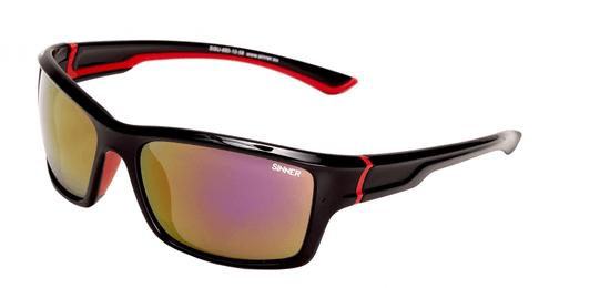 SINNER okuliare Cayo Black/Red