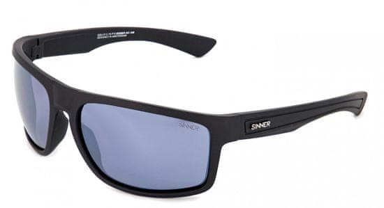 SINNER okuliare Steelhead Black