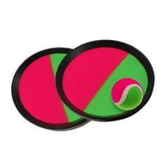 Sportteam Catch Ball set, roza/zelen