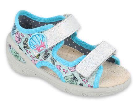 Befado dekliški sandali Sunny 065P133, 20, modri
