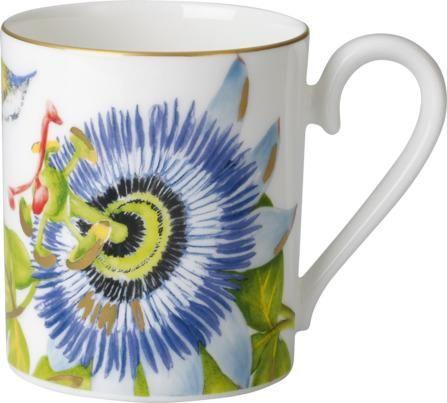 Villeroy & Boch skodelica, 0,3 L, cvetni vzorec