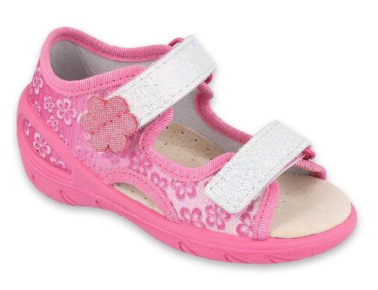 Befado dievčenské sandále Sunny 065X138 26 ružové