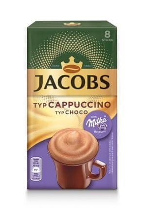 Jacobs kawa rozpuszczalna Cappuccino Milka