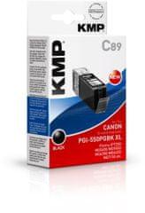 KMP Canon PGI-550XL PGBK (Canon PGI 550 XL PGBK) černý inkoust pro tiskárny Canon
